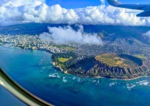 Luftaufnahme Honolulu Oahu Hawaii