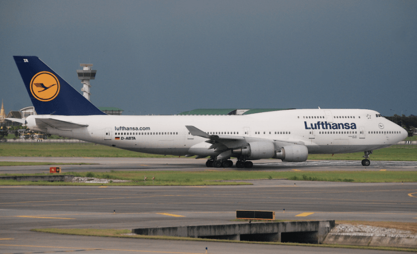 Letzte Chance Lufthansa Boeing 747 Auf Frankfurt Berlin Bis Zum