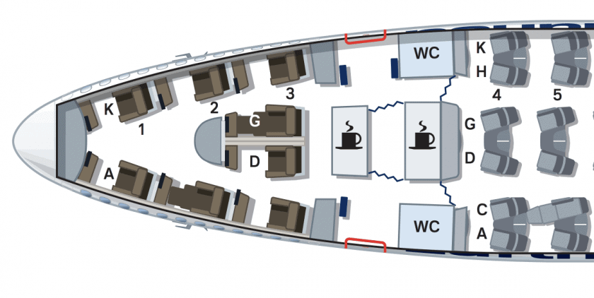 Lufthansa 747 8 Seat Map First Class