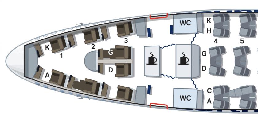 Lufthansa 747 8 Seat Map First Class