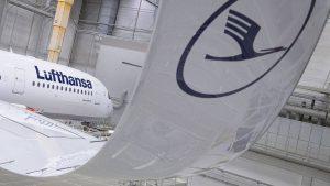 Airbus A350 von Lufthansa