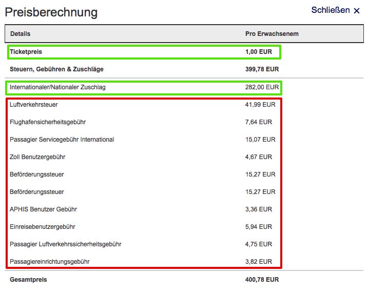 Lufthansa Berechnungsgrundlage Umsatzabhängig