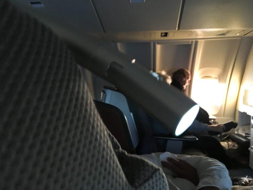 Lufthansa Business Class Leselampe