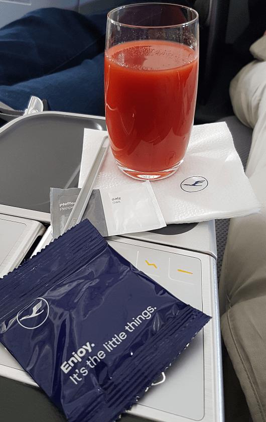 Lufthansa Business Class Service