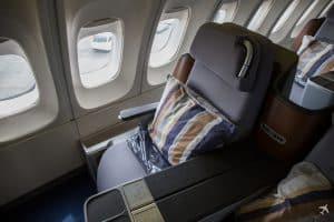 Lufthansa Business Class Sitz