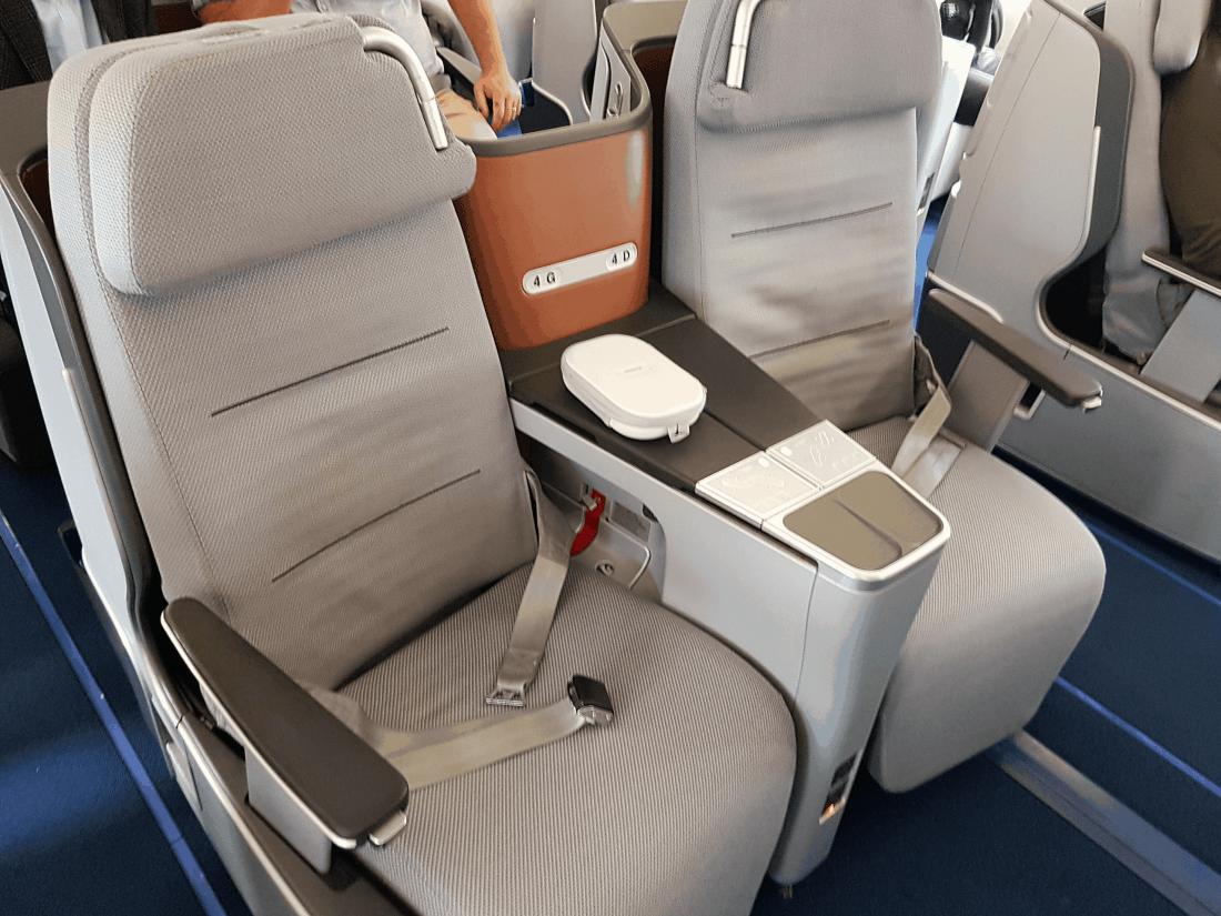 Lufthansa Business Class Sitz A340