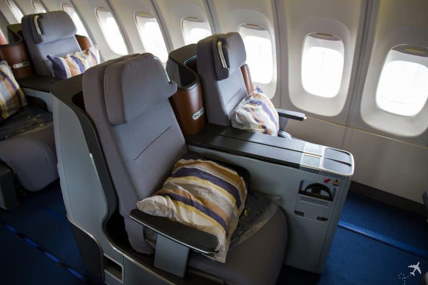 Lufthansa Business Class Sitze