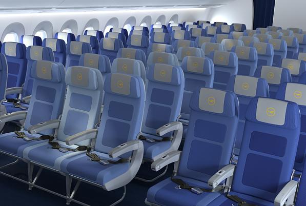 Lufthansa Economy Class Airbus A350