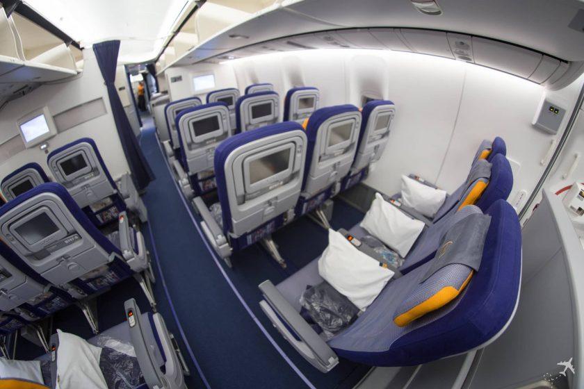 Lufthansa Economy Class Boeing 747-8i