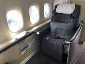 Lufthansa First Class Einzelsitz