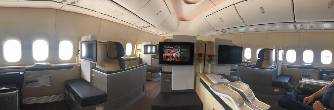 Lufthansa First Class Panorama