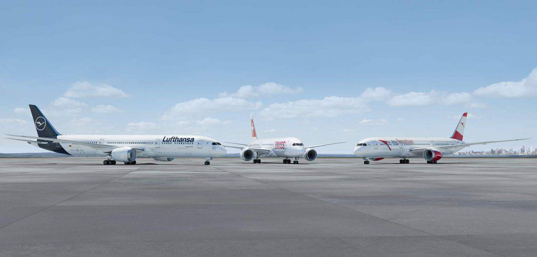 Lufthansa Group Boeing 787