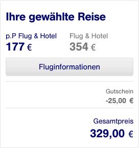 Lufthansa Holidays Gutschein eingelöst