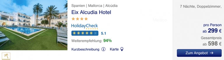 Lufthansa Holidays Mallorca Hotel