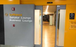 Lufthansa Lounge New York JFK Eingang
