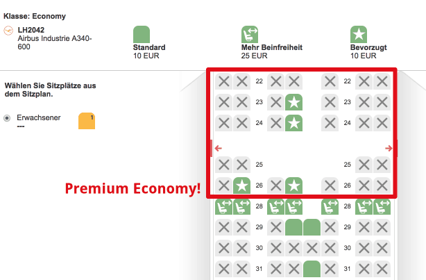 Lufthansa MUC-TXL Premium