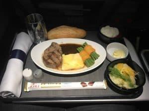 Lufthansa Menu a la Carte Foto 1