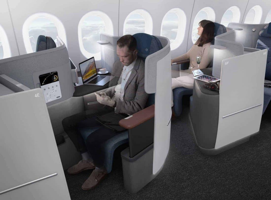 Lufthansa Neue Business Sitz