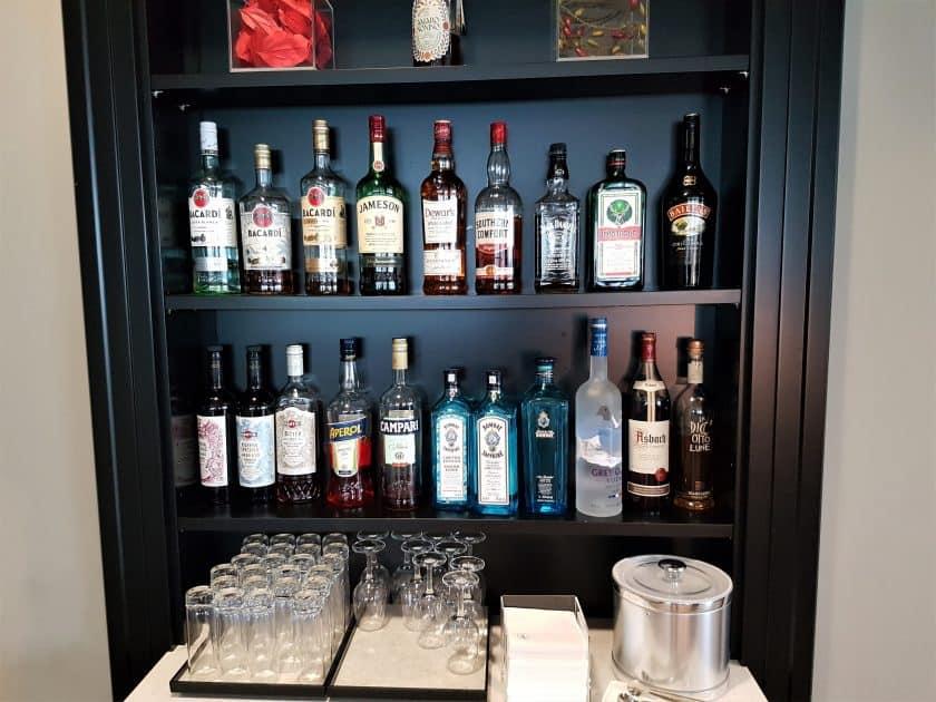 Lufthansa Panorama Lounge Bar