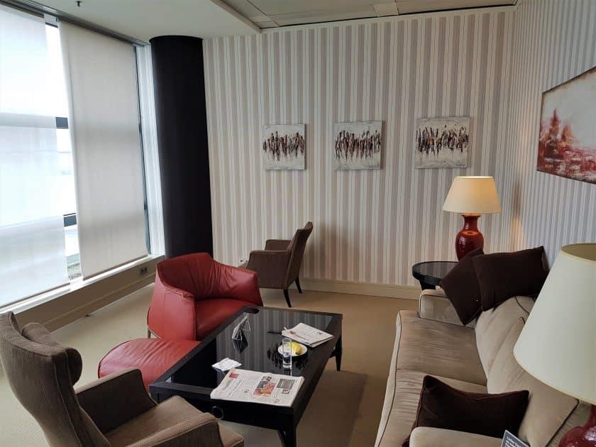 Lufthansa Panorama Lounge Sitzbereich 2