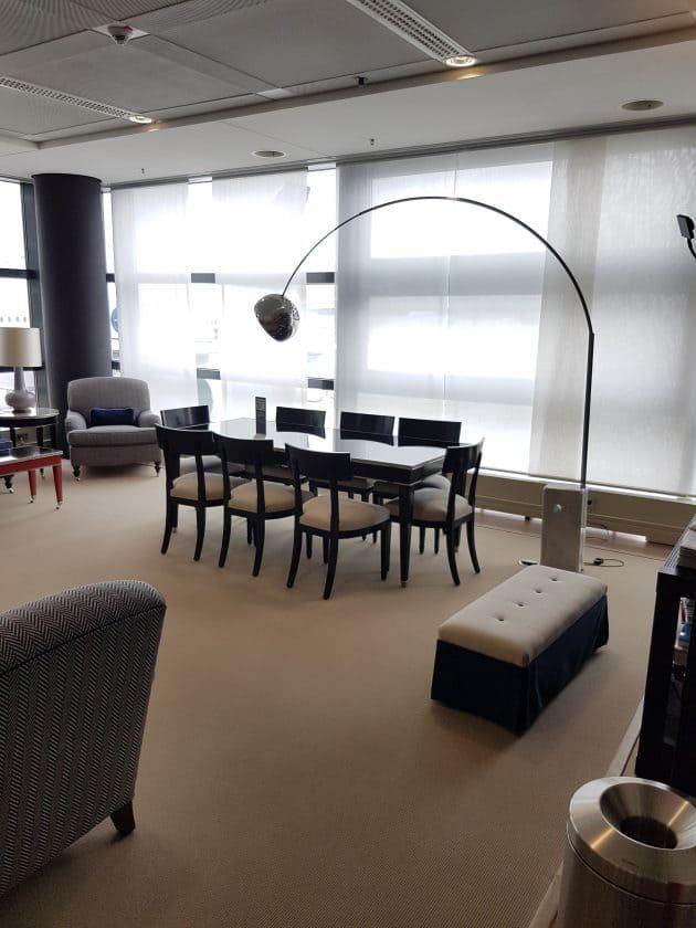 Lufthansa Panorama Lounge Sitzbereich 4