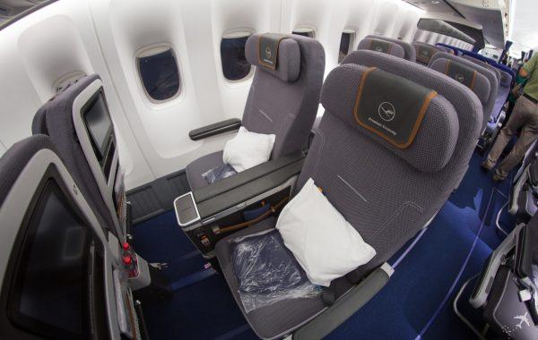 Lufthansa Premium Economy Class Boeing 747-8i