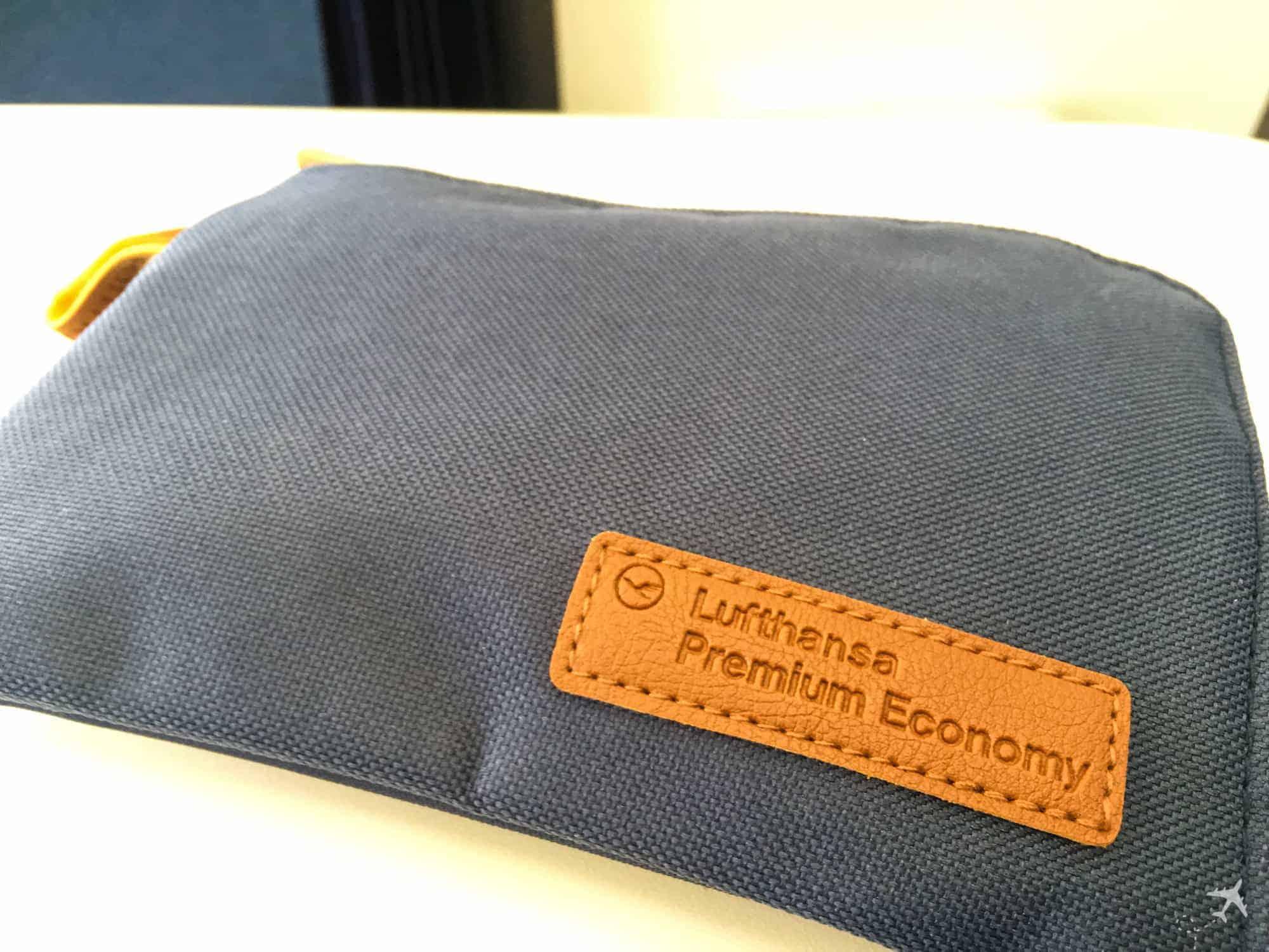Lufthansa Premium Economy Class Amenity Kit