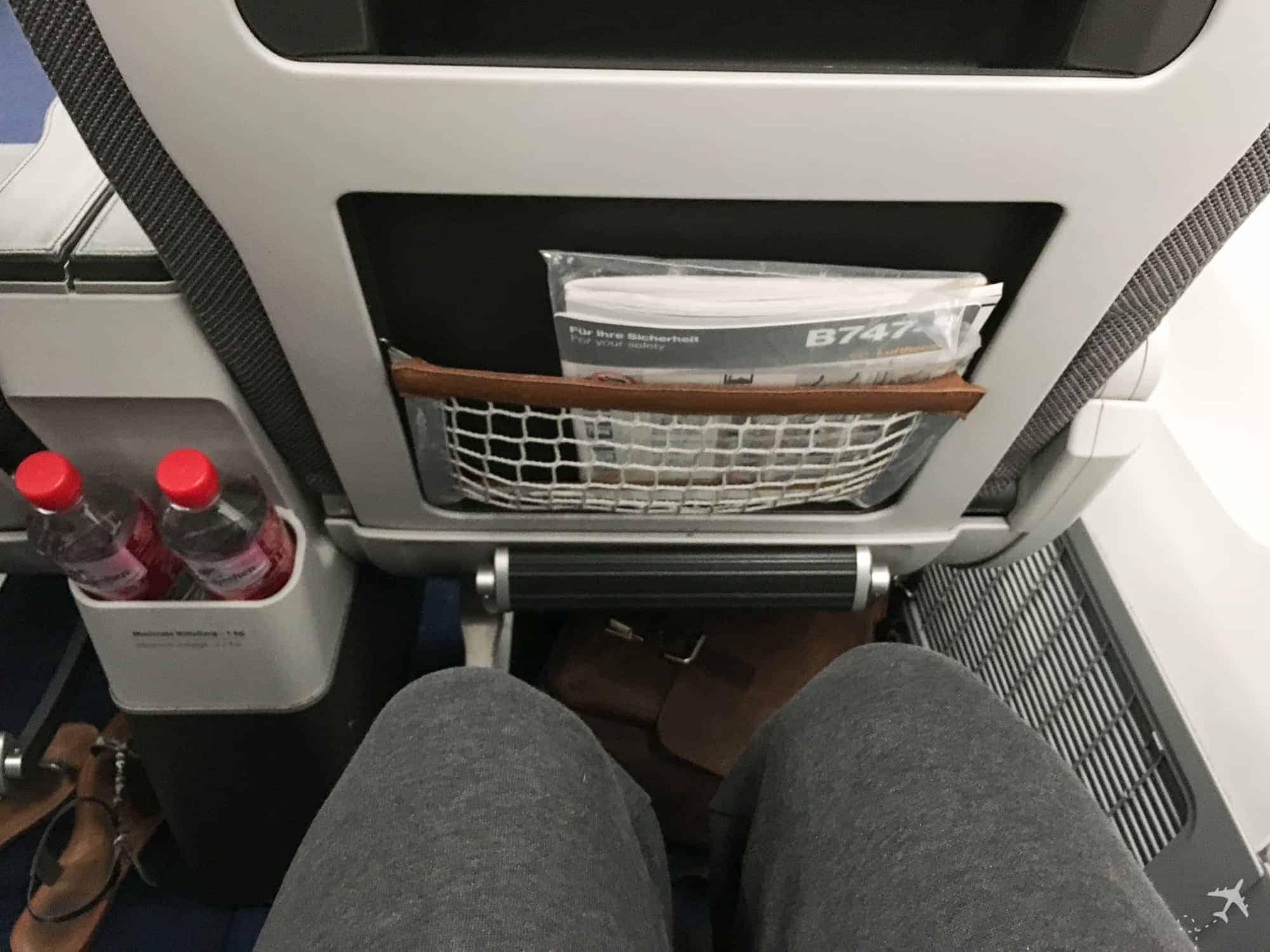 Lufthansa Premium Economy Class Sitzabstand