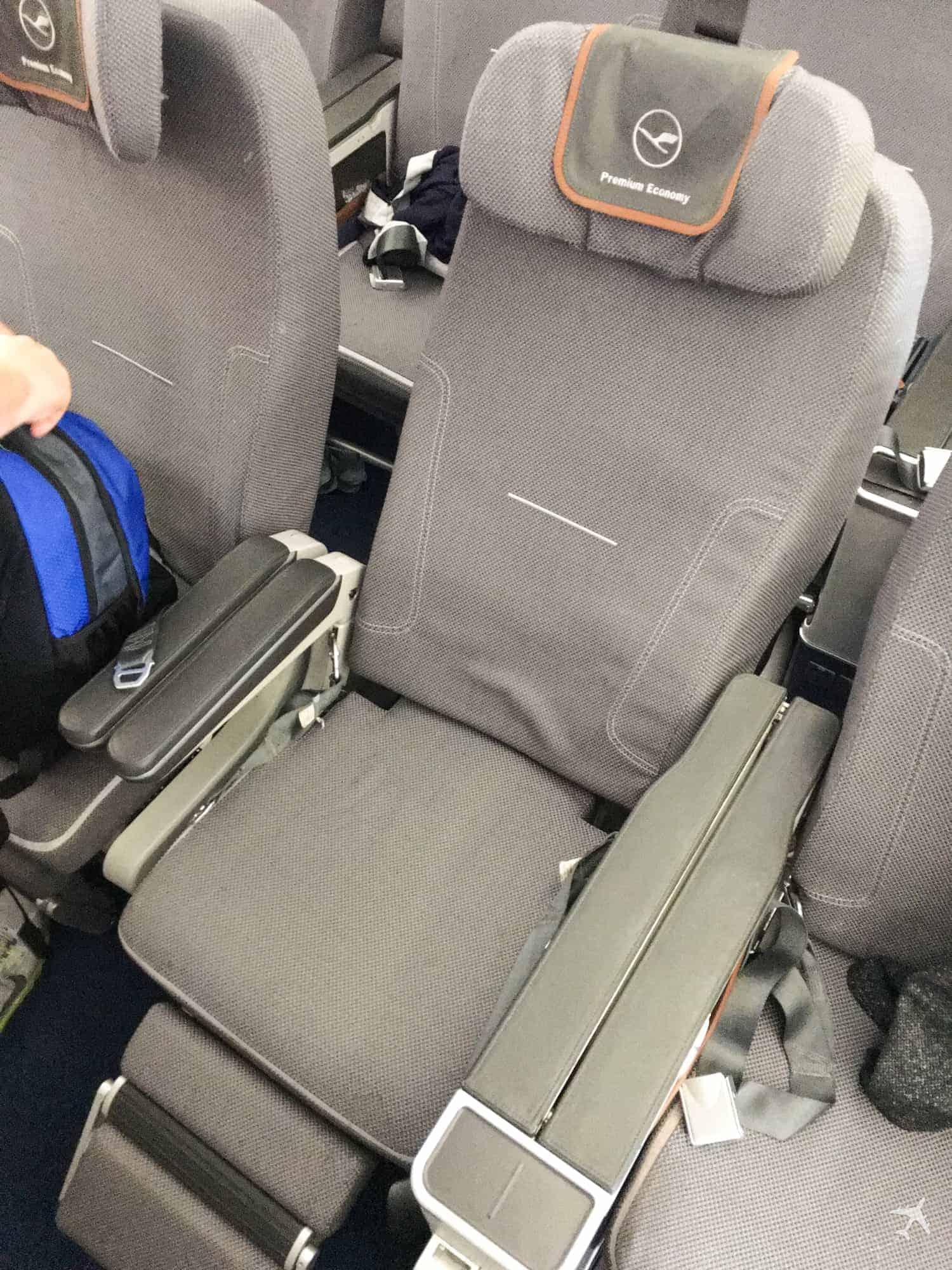 Lufthansa Premium Economy Class Sitzneigung