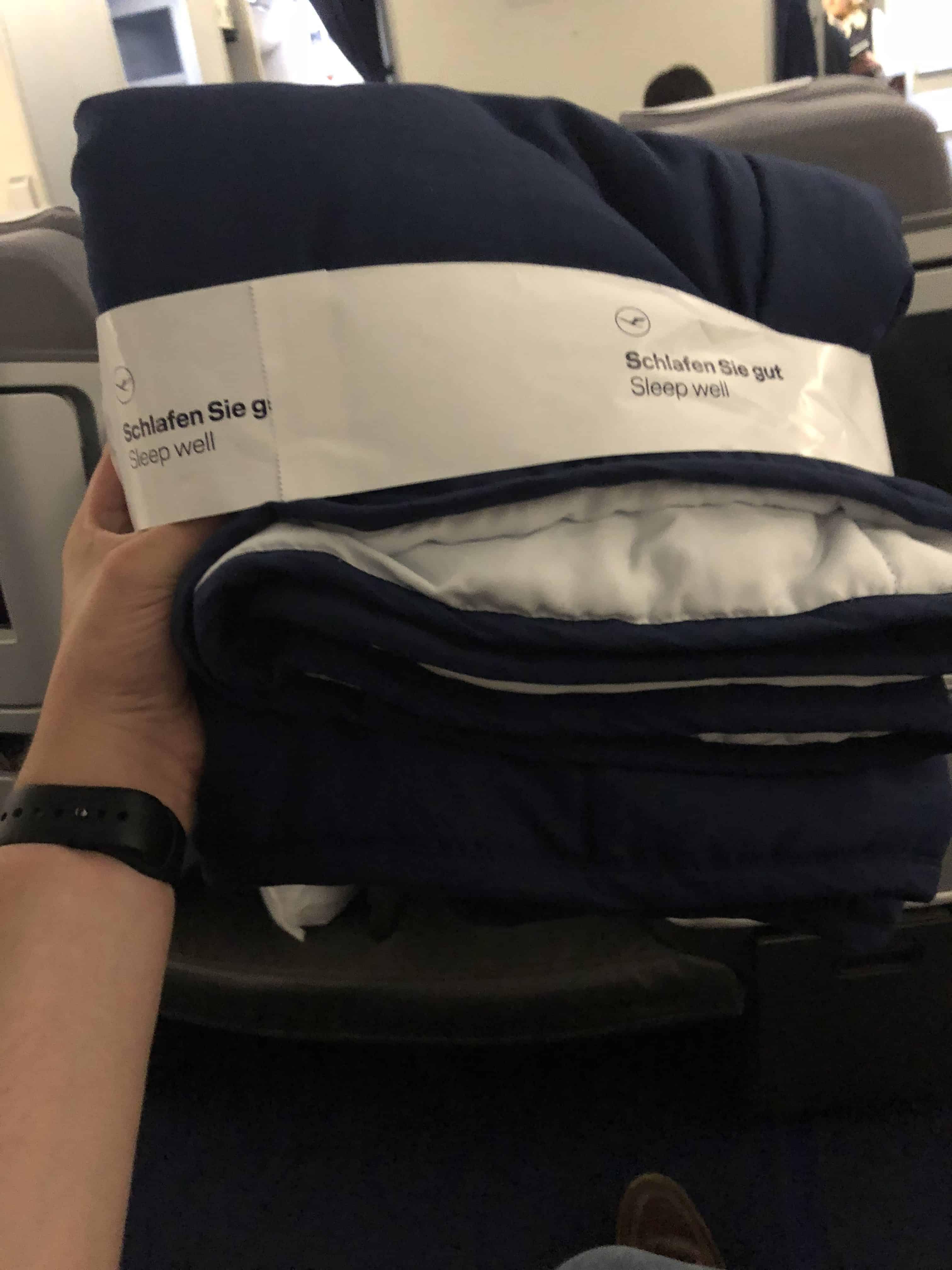 Lufthansa Verbeserungen Decke