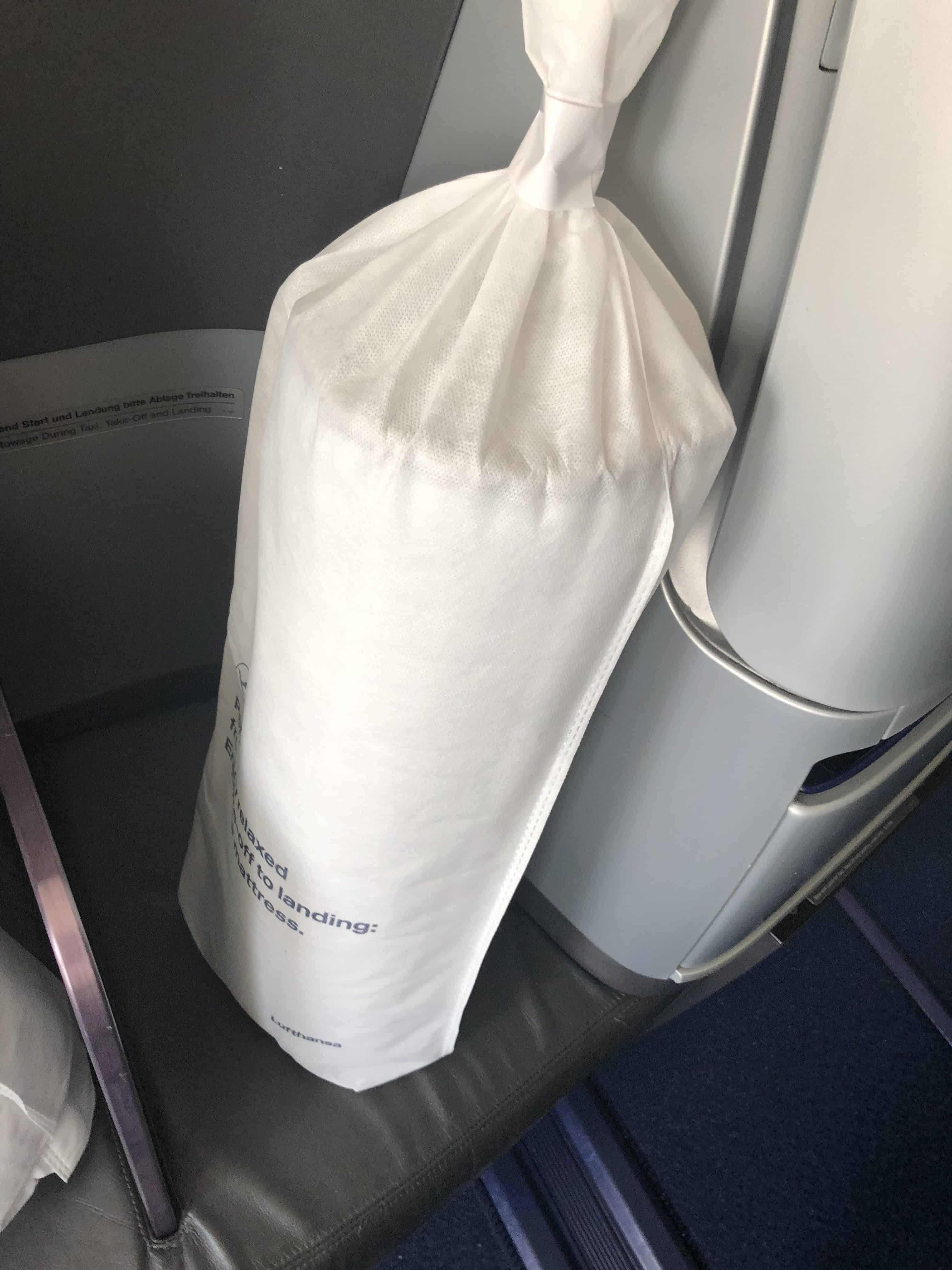 Lufthansa Verbeserungen Matratze