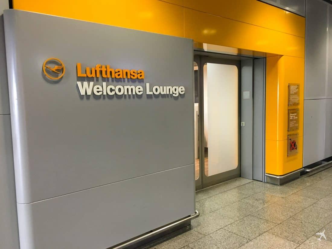 Lufthansa Welcome Lounge Frankfurt