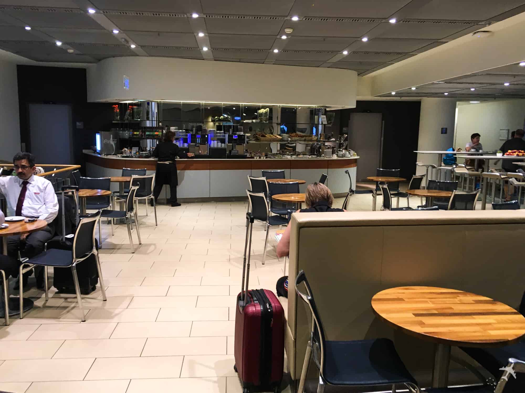 Lufthansa Welcome Lounge Frankfurt Buffet