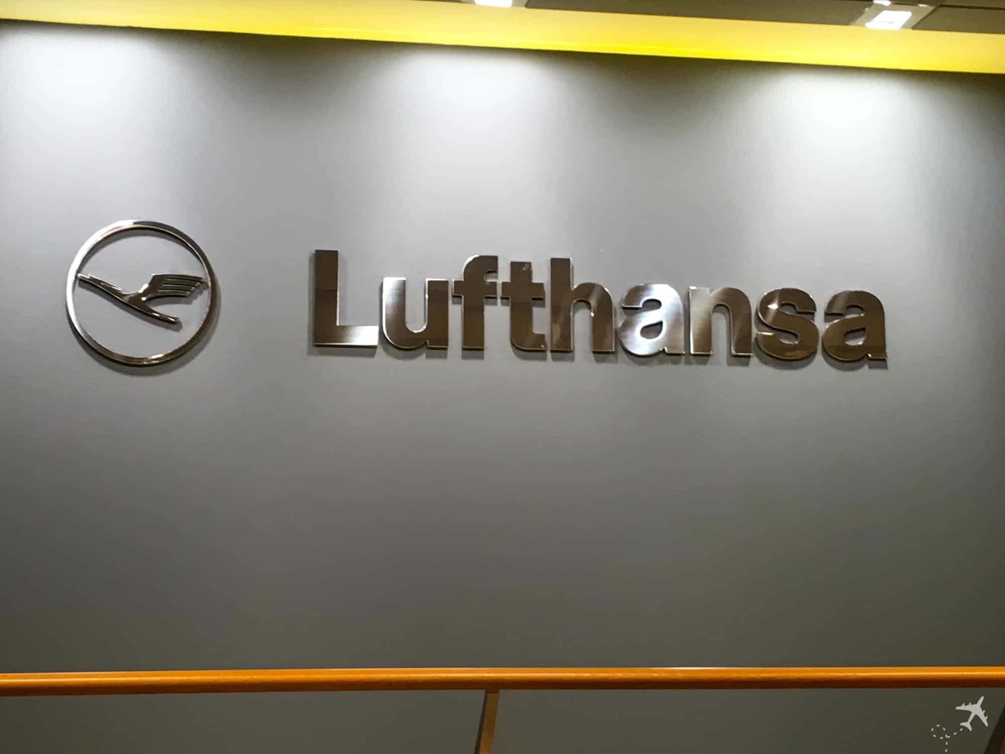 Lufthansa Welcome Lounge Frankfurt Logo