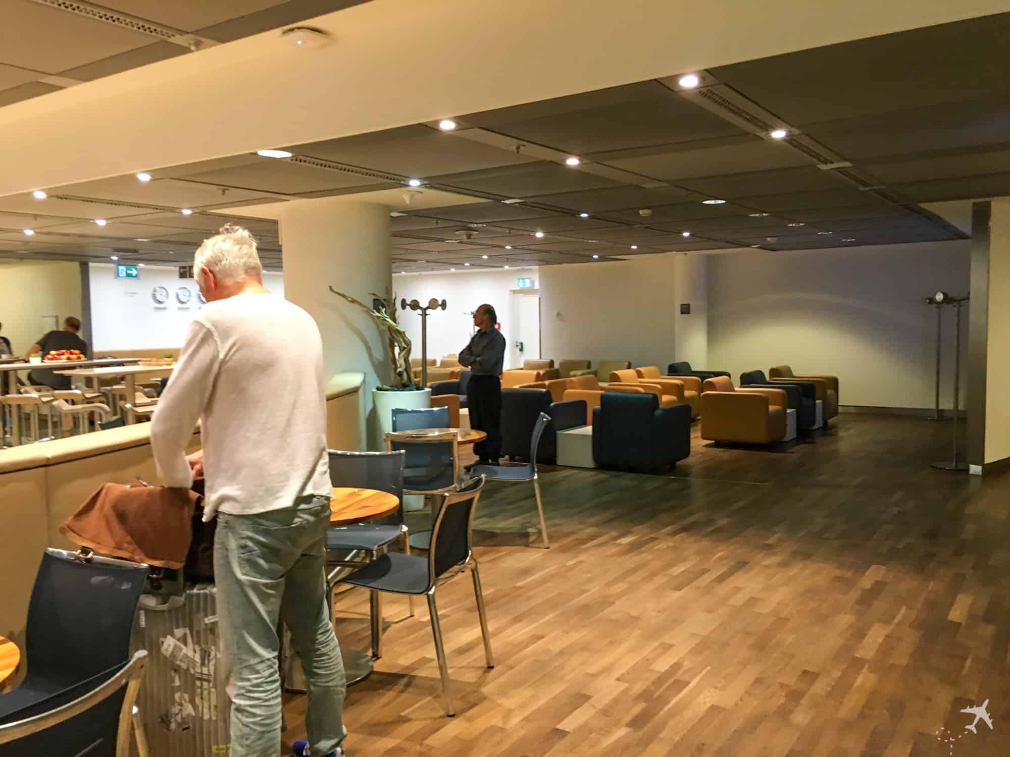 Lufthansa Welcome Lounge Frankfurt Sitzgelegenheiten
