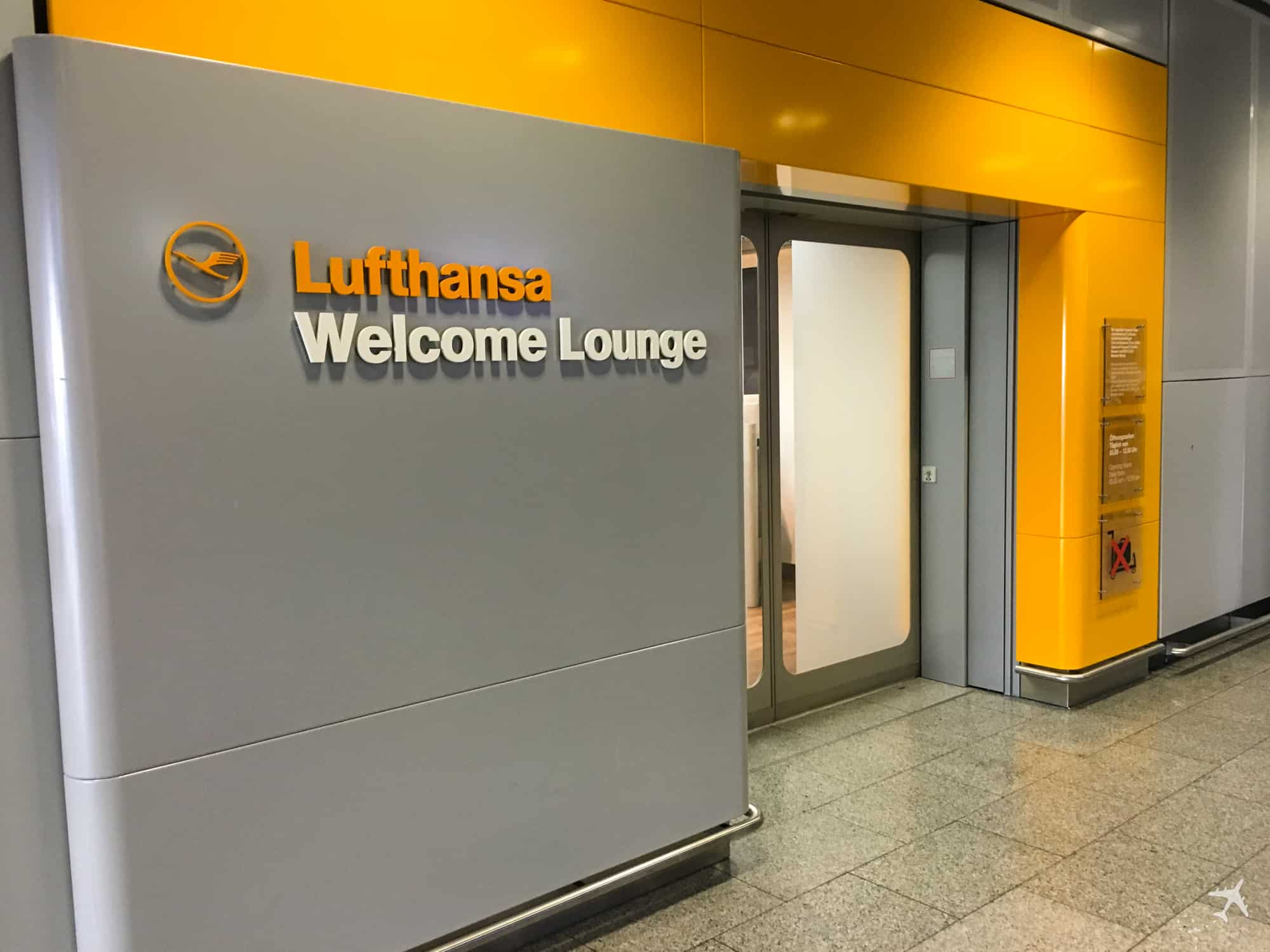 Lufthansa Welcome Lounge Frankfurt