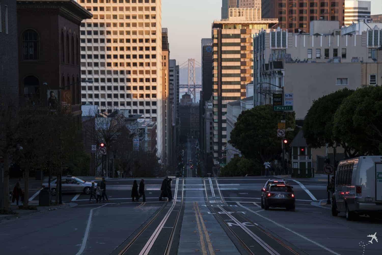 California Street Cable Car Line - San Francisco, USA