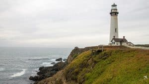 Pigeon Point Lighthouse Highway 1, Kalifornien, USA