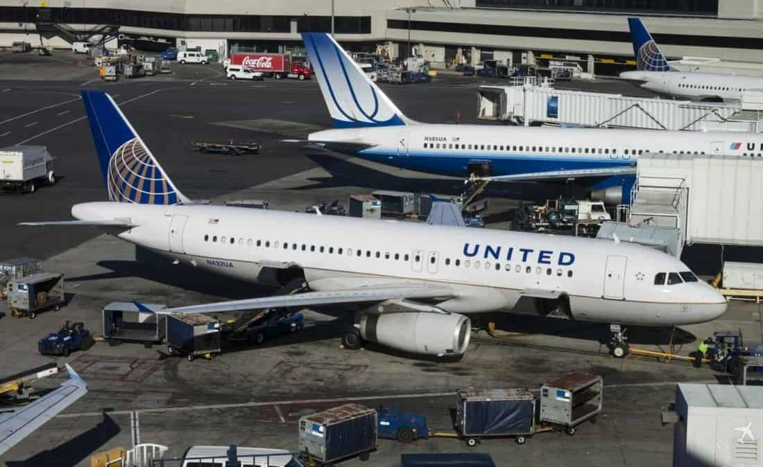 United Airlines SFO San Francisco, USA