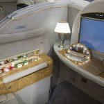 Emirates First Class Suite Vorne