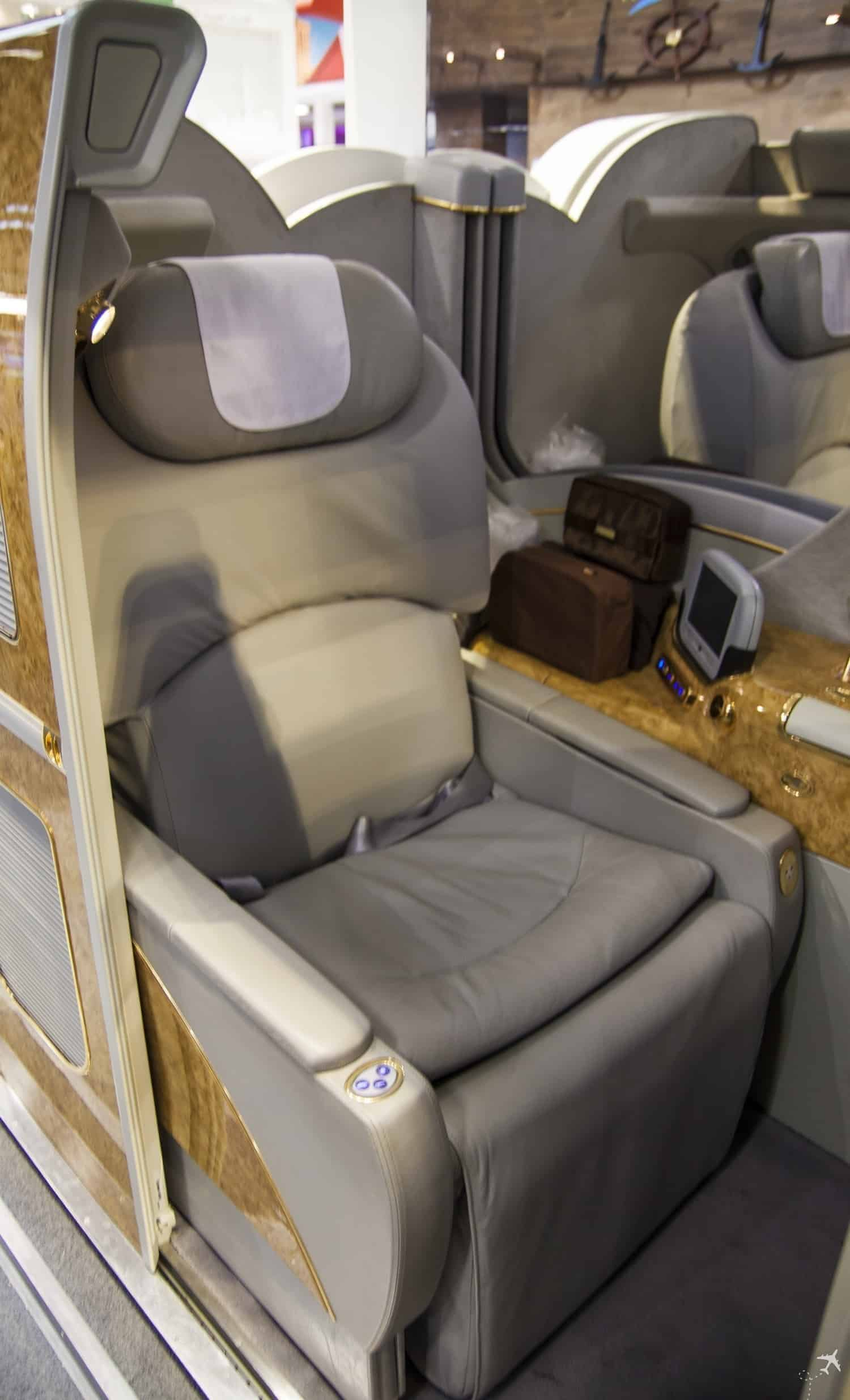 Emirates First Class Suite Sitz