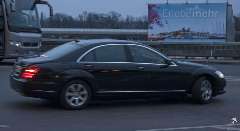 Meine Limousine zum Flughafen