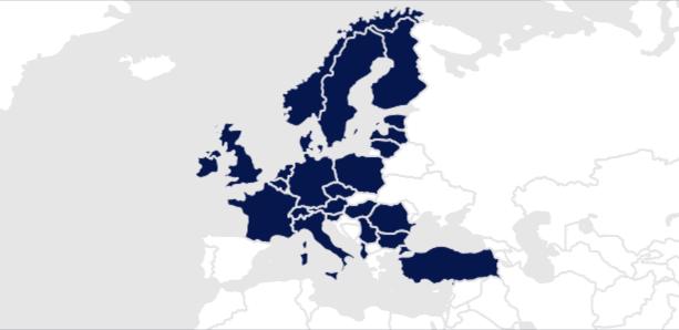 MM 5 fach folgende Länder