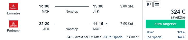MXP JFK 324