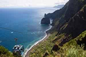 Teleférico da Rocha do Navio - Santana, Madeira, Portugal