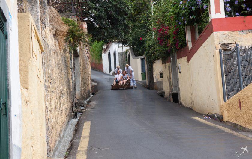 Korbschlitten - Madeira, Portugal