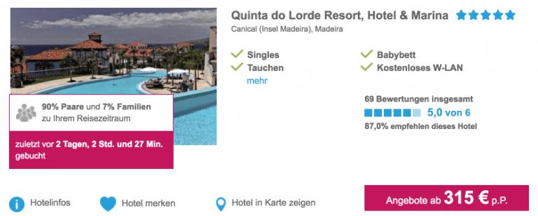 Madeira Quinta do Lorde Resort