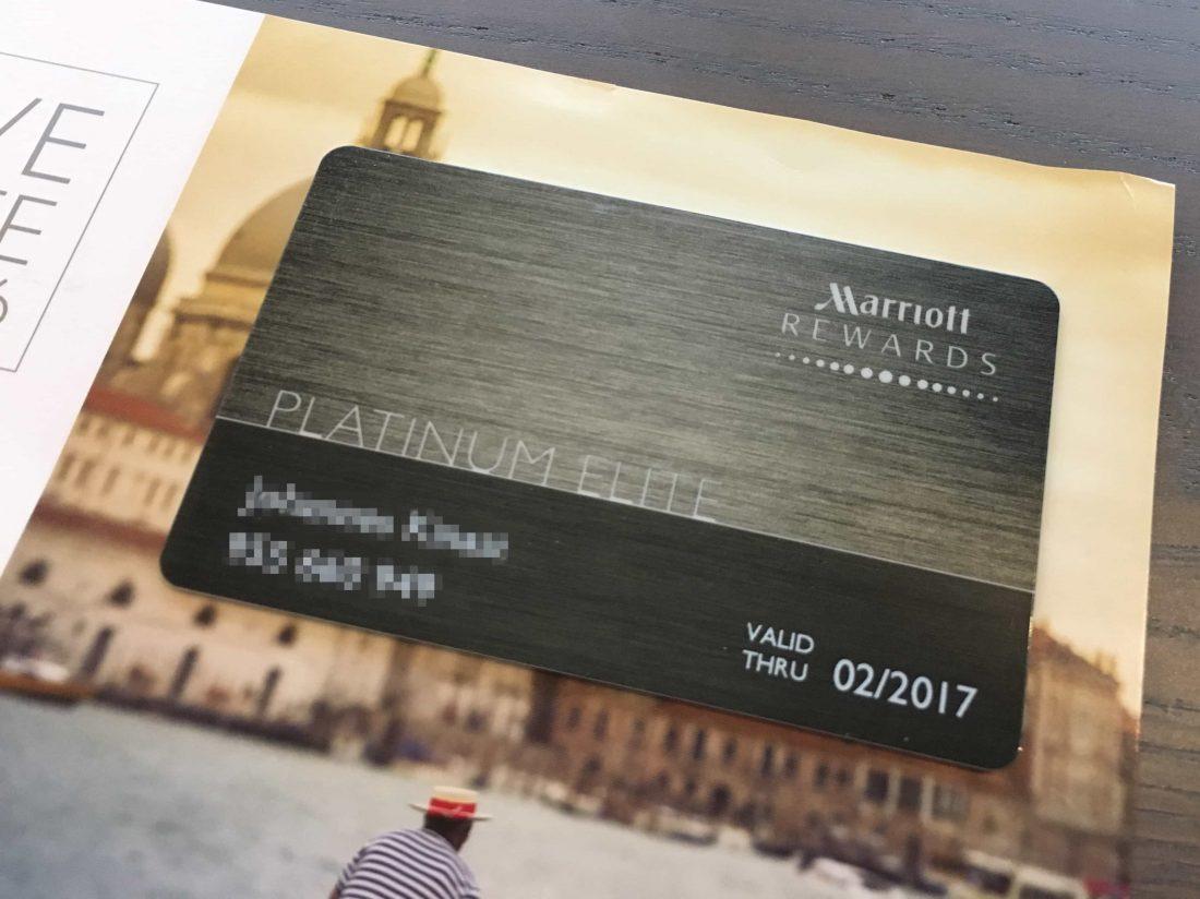 Marriott Rewards Platinum Card