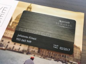 Marriott Rewards Platinum Card