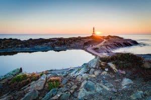 Favaritx-Leuchtturm auf Menorca
